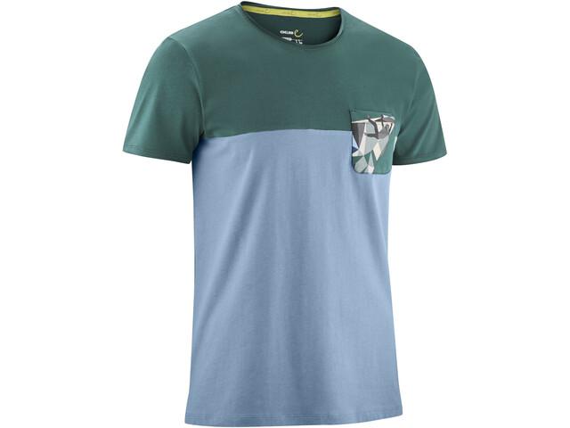 Edelrid Nofoot Camiseta Hombre, stone blue
